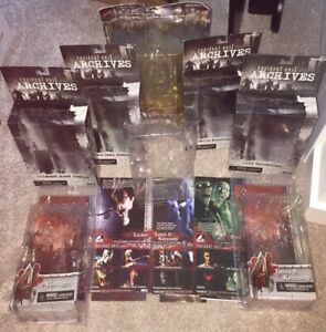 Resident Evil 4 NECA/Palisades Boxes Only No Figures! Chris Tyrant Jill Leon