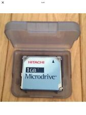 HITACHI 1GB Microdrive Media Storage Hard Disc memory Compact Flash Type II Rare