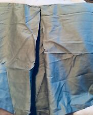 Liz Claiborne King Turquoise Blue Tailored Bed Skirt Dust Ruffle Cotton New