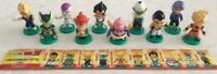 RARE Complete Set 10 Mini Figure DRAGONBALL Z Original Games Sweet Preziosi