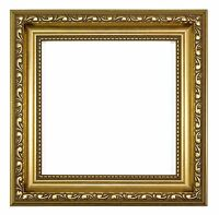 Ornate Shabby Chic Picture / photo frame poster frame Instagram Square - Gold