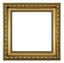Ornate Shabby Chic Picture / photo frame poster frame Instagram Square - Gold