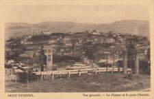 CPA Saint-Étienne Vue générale : Le Clapier et le puits Chatelus