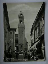 PIOMBINO Municipio Corso Engels Livorno animata vecchia cartolina