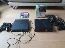 ps4 500GB met 2 controllers + xbox360 met 2 controllers + games