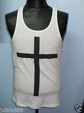 M62:New Divided By H&M  Men's Cotton Sando-Small-White