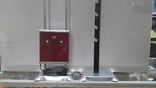 """Girarrosto Elettrico- l originale """"portata 10 kg"""" c/ 2 spiedi + fermacarne"""
