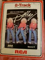 Dolly Parton Here You Come Again RCA APS 2544 Stereo 8 track Country