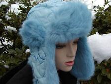Señora gorro tschapka mcburn conejos fell GR 56 invierno gorro viento forro cálido