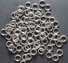 Stainless Steel  6 MM O/D Open Jump Ring (0.80 MM Wire) Pkg. Of  100  #316L