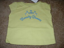 Gymboree Baby Girls Greek Isle Beauty Queen Shirt Size 3-6 mos month NWT NEW $19