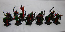 Warhammer Dark Elf  Corsairs army lot metal oop