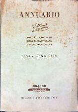 NOVITÀ E PROGRESSI DELLA FARMACOTERAPIA E DELLA FARMACEUTICA. 1950 E. MERCK