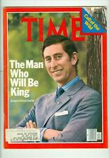 "1978 Time Magazine: Prince Charles-""The Man Who Will Be King"""