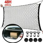 110*50cm Large Car Boot Van Truck Cargo Net Bungee Cord 4hooks Luggage Roof Rack