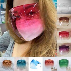 Men's Women's Oversized Full Face Polarized Large Mirror Sunglasses Big Mask #¥@