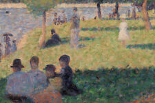 Group of Figures by Georges Seurat 60cm x 40cm Art Paper Print