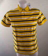 MARQUE POLO RALPH LAUREN HOMME POLO L NEUF JAUNE 2018 CUSTOM FIT