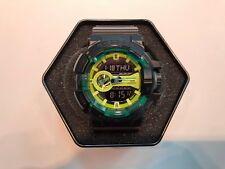 **BRAND NEW** CASIO WATCH G-SHOCK ANA-DIG ROTARY BLACK GREEN ACCENTED GA400LY-1A