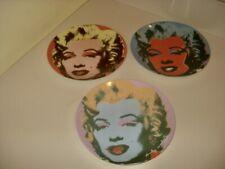 New ListingVintage Andy Warhol Porcelain Plates Marilyn Monroe Bock Series