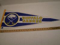BUFFALO SABRES NHL VINTAGE  FELT PENNANT SPORTS BANNER HOCKEY