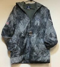 Authentic NFL Apparel Indianapolis Colts Sideline United Hoodie Reebok NWT Small