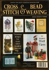 Cross Stitch And Bead Weaving Christmas Designs Shelf Elf Is 93 FREE SHIPPING!