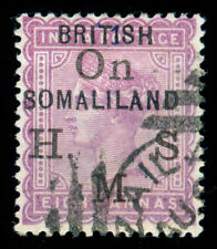 MOMEN: SOMALILAND SG #O4 1903 USED LOT #60120