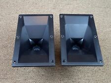 Two APT50-2 Super Tweeter Horns Made by Eminence / Matched 8 ohm / New @@@@@@@@@
