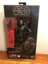 Star Wars The Black Series Supreme Leader Kylo Ren Sealed 6? Inch Action Figure
