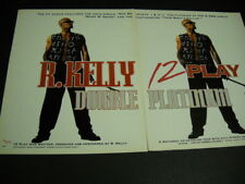 R. Kelly original 1994 Two-Piece Promo Poster Ad Double Platinum