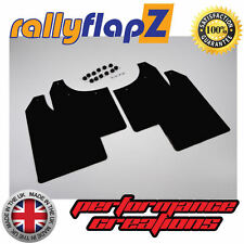 rallyflapZ MG ROVER MG ZR (01-05) Hatchback Mud Flaps Mudflaps Black 3mm PVC