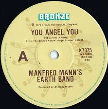 Manfred Mann's Earth Band ORIG OZ 45 You angel you EX '79 Pop Rock Art Rock
