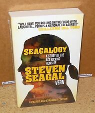 SEAGALOGY: The Ass-Kicking Films of Steven Seagal by Vern (2012, Paperback) NEW
