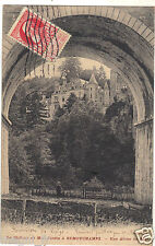 Belgium - Le château di mio Giardino presso REMOUCHAMPS - Una arca il ponte