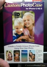 PERSONALIZED CUSTOM PHOTO HARDSHELL Case For iPhone 4 4S 5 5S 5C new with code