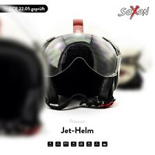 SOXON SP-325 Winner casque Demi Jet Vespa Scooter moto Helmet Urbain XS S M L XL