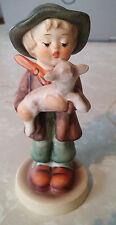 "Goebel Hummel The Lost Sheep 1962 #68 /210 Little Boy with Lamb 4 1/4"" Tall Mint"