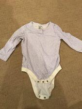 Baby Gap Bodysuit 6-12 Months Purple