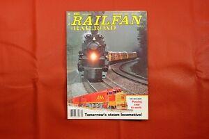 Vintage Railfan & Railroad Magazine January 1981, RR Train Locomotive Interest