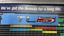 """ACURA TL TYPE-S EMBLEM  """"FACTORY"""" PART# 75722-SEP-A62 FIT: TL 2007-2008"""
