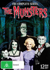 THE MUNSTERS (COMPLETE SERIES DVD - BOX SET SEALED + FREE POST)
