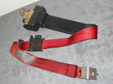 1990 1991 1992 1993 Mustang Lx Gt CONVERTIBLE RED RH REAR SEAT BELT RETRACTOR