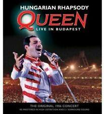 Hungarian Rhapsody Queen Live in Buda 0801213342297 Blu Ray Region a