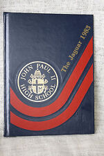 "Pope John Paul II High School Year Book ""The Jaguar"" Slidell Louisiana 1983"