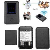 Wireless Modem Wifi Mobile Router 3G 4G LTE Hotspot Portatile Batteria SIM Slot