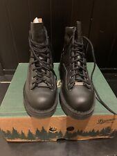 "Danner Patrol Boots 6"" Black Gore-Tex Size 8.5D"
