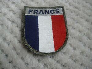 insigne tissu militaire OPEX, FRANCE