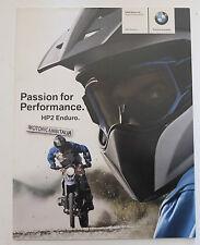 BMW HP2 ENDURO  CATALOGO DEPLIANT  PIEGHEVOLE BROCHURE PROSPEKT PUBBLICITA