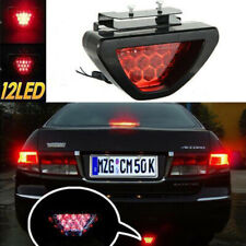 12V Car Sporty F1 Style Triangle 12LED Rear Stop Tail Third Brake Light Lamp~lw
